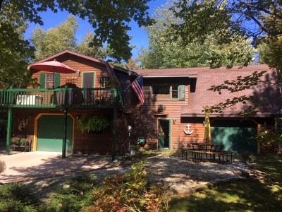 Marquette Single Family Home New: 348 Shot Point Dr