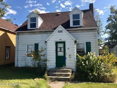 Bemidji MN Single Family Home For Sale: $90,000