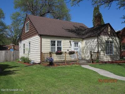 Single Family Home For Sale: 341 Crocker Avenue N