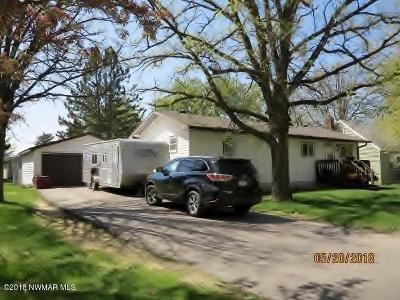 Thief River Falls MN Single Family Home For Sale: $168,900