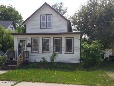 Crookston Single Family Home For Sale: 417 S Ash Street
