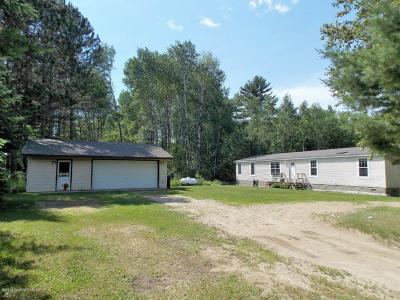 Bemidji MN Single Family Home For Sale: $124,500