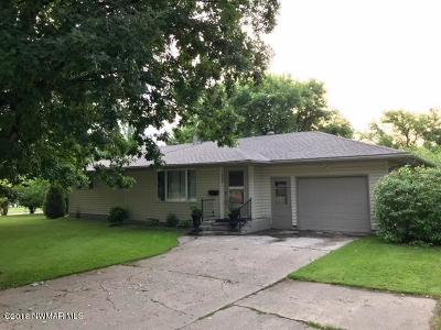 Fosston Single Family Home For Sale: 420 Brandt Avenue N