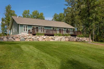 Bemidji Single Family Home For Sale: 49220 279th Avenue