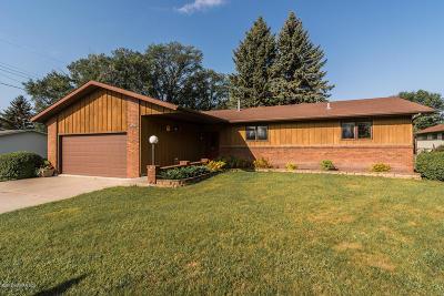 Crookston Single Family Home For Sale: 1219 Pine Street
