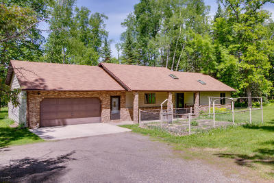 Bemidji Single Family Home For Sale: 5671 River Park Road NE