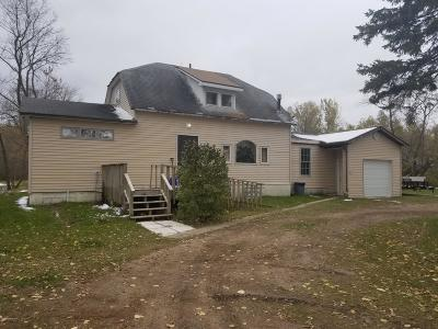 Warroad MN Single Family Home For Sale: $135,000