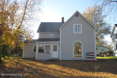 Warroad MN Single Family Home For Sale: $79,000