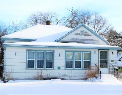 Bemidji MN Single Family Home For Sale: $129,500