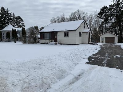 Bagley MN Single Family Home For Sale: $99,000