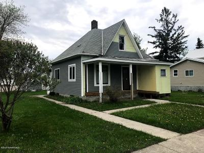 Fosston Single Family Home For Sale: 207 N Inderlee Avenue