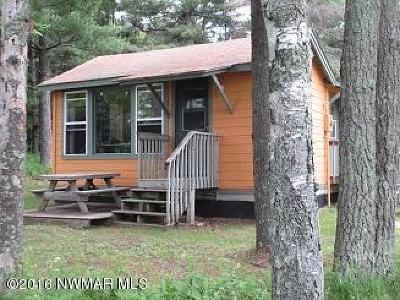Bemidji Single Family Home For Sale: 5554 Island View Drive NE #7
