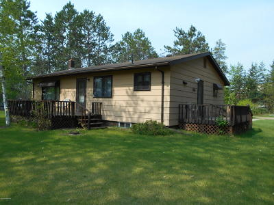 Bagley Single Family Home For Sale: 36501 Fairground Road