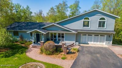 Bemidji Single Family Home For Sale: 3495 Riverside Drive NE