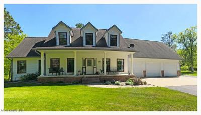 Bemidji Single Family Home For Sale: 8444 White Oak Street NE