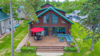 Bemidji Single Family Home For Sale: 4015 Waville Road NE