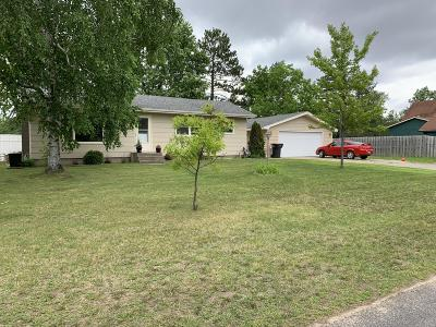 Bemidji Single Family Home For Sale: 121 Pine Crest Court NW