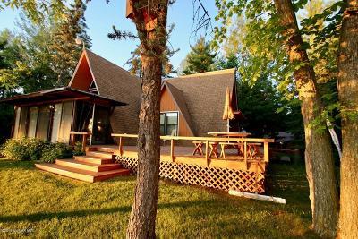 Bemidji, Shevlin, Solway, Bagley, Clearbrook, Leonard Single Family Home For Sale: 4803 E Grace Lake Road SE