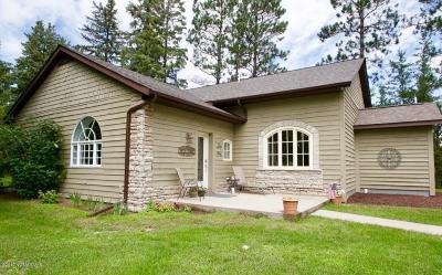 Bemidji, Shevlin, Solway, Bagley, Clearbrook, Leonard Single Family Home For Sale: 446 Carr Lake Road SE
