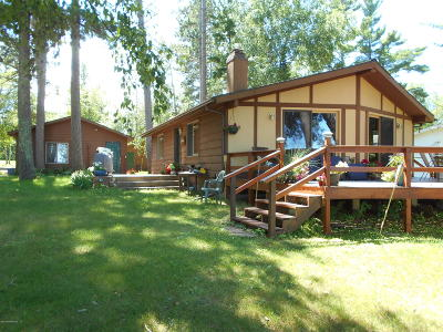 Bemidji Single Family Home For Sale: 51298 Wildview Lane SE