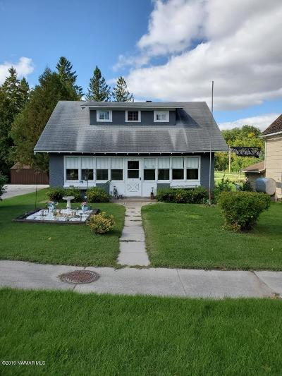 Red Lake Falls Single Family Home For Sale: 316 Main Avenue N