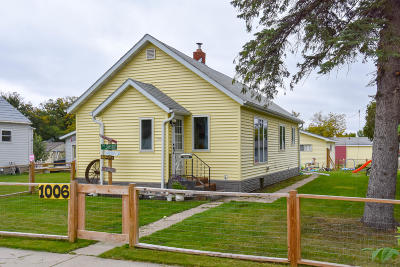 Thief River Falls Single Family Home For Sale: 1006 Knight Avenue N