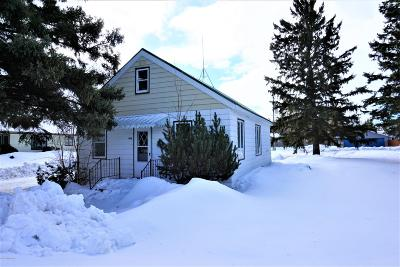 Roseau MN Single Family Home For Sale: $89,500