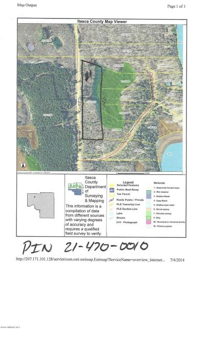 Itasca County Residential Lots & Land For Sale: 1 County Road #26