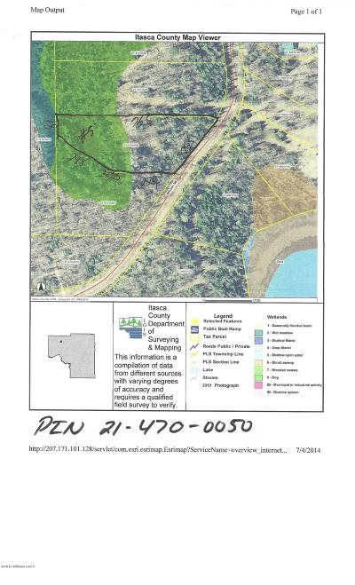 Itasca County Residential Lots & Land For Sale: 5 Wheeler Drive