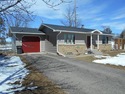 Bemidji MN Single Family Home For Sale: $152,500