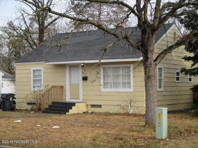 Bemidji, Shevlin, Solway, Bagley, Clearbrook, Leonard Single Family Home For Sale: 213 24th Street NE