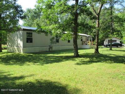 Bemidji, Shevlin, Solway, Bagley, Clearbrook, Leonard Single Family Home For Sale: 10321 N Garden Lane NE