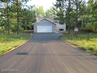 Bemidji, Shevlin, Solway, Bagley, Clearbrook, Leonard Single Family Home For Sale: 5345 Monte Plata Road NW