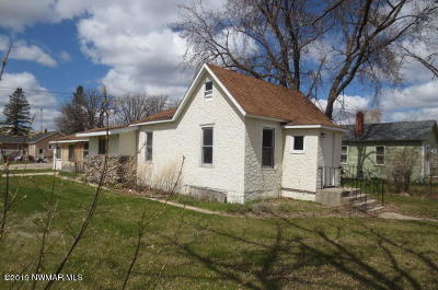Greenbush Single Family Home For Sale: 250 4th Street S
