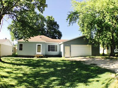 Newfolden MN Single Family Home For Sale: $115,000