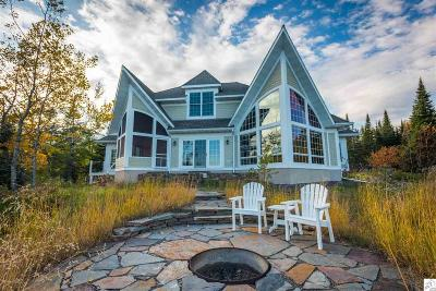 Two Harbors Single Family Home For Sale: 1960 Silver Cliff Landing Rd