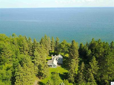 Two Harbors Single Family Home For Sale: 604 Old North Shore Rd