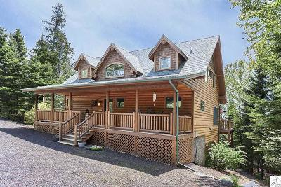 Two Harbors Single Family Home For Sale: 2472 Cliff View Cr