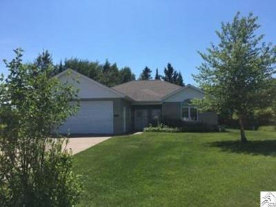 Two Harbors Single Family Home For Sale: 726 Laura Lane Cr