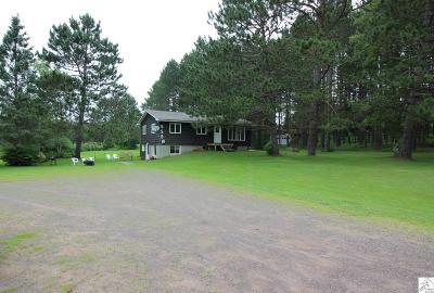 Hermantown Single Family Home For Sale: 5581 St. Louis River Rd