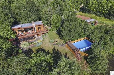 Superior Single Family Home For Sale: 8008 S Dowling Lake Rd