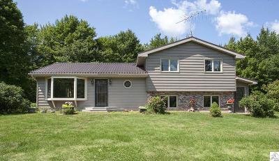 Two Harbors Single Family Home For Sale: 1255 Huhta Rd