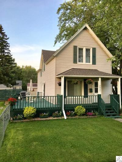 Superior Single Family Home Pending-Take Back Ups: 2805 E 8th St