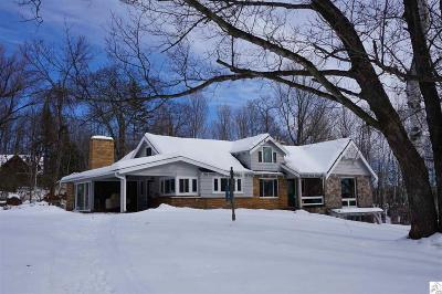Superior Single Family Home For Sale: 7950 S Dowling Lake Rd