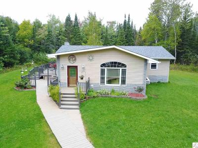 Two Harbors Single Family Home Inspection Contingency: 1165 Shoreview Rd