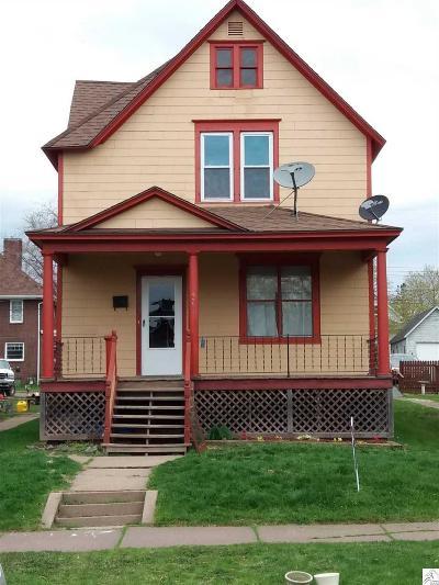 Single Family Home Pending-Take Back Ups: 425 3rd Ave