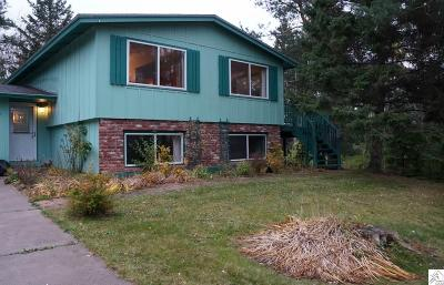 Duluth MN Single Family Home Sold: $208,000