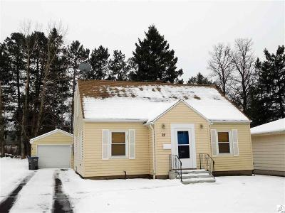 Duluth Single Family Home For Sale: 22 W Winona St