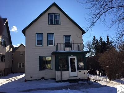 Two Harbors Single Family Home For Sale: 714 3rd Ave