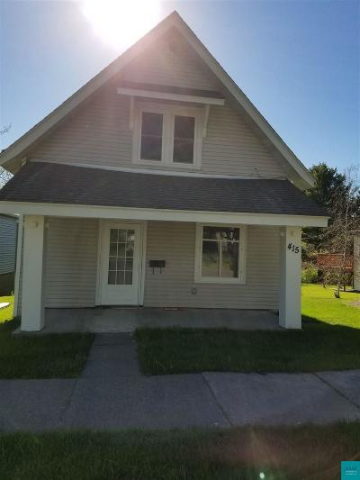Single Family Home For Sale: 415 3rd St